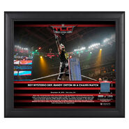 Rey Mysterio TLC 2018 15 x 17 Framed Plaque w Ring Canvas