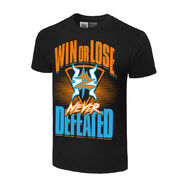 Zack Ryder & Curt Hawkins Never Defeated Authentic T-Shirt