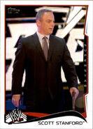 2014 WWE (Topps) Scott Stanford 45