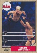 2017 WWE Heritage Wrestling Cards (Topps) Enzo Amore 21
