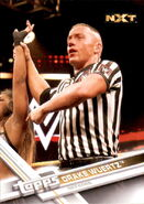 2017 WWE Wrestling Cards (Topps) Drake Wuertz 70