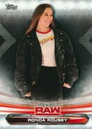 2019 WWE Raw Wrestling Cards (Topps) Ronda Rousey 61