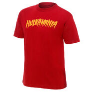 Hulk Hogan Hulkamania Red Youth Authentic T-Shirt
