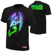 Jeff Hardy Immune to Fear Authentic T-Shirt