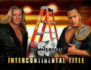 Triple H vs. The Rock Summerslam 1998