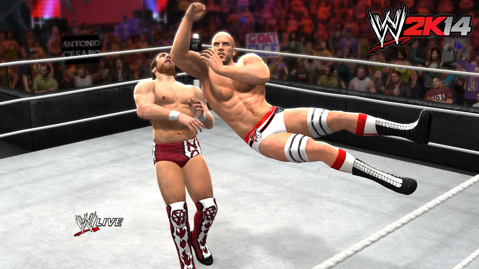 image - wwe 2k14 screenshot.29 | pro wrestling | fandom powered