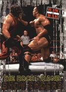 2001 WWF RAW Is War (Fleer) The Rock vs. Kane 98