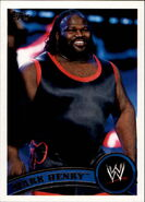 2011 WWE (Topps) Mark Henry (No.69)