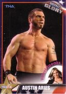 2013 TNA Impact Glory Wrestling Cards (Tristar) Austin Aries 52