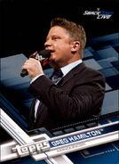 2017 WWE Wrestling Cards (Topps) Greg Hamilton 43