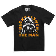 Becky Lynch The Man Katakana Youth T-Shirt