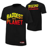 Ronda Rousey Baddest On The Planet Youth Authentic T-Shirt