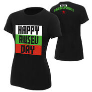 Rusev Happy Rusev Day Women's Authentic T-Shirt