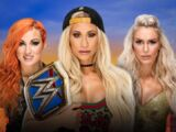 SummerSlam 2018 Carmella v Becky Lynch v Charlotte Flair