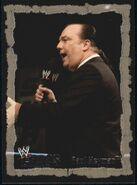 2004 WWE Chaos (Fleer) Paul Heyman 27