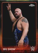 2015 Chrome WWE Wrestling Cards (Topps) Big Show 7