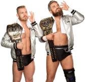 Moustache Mountain NXT Tag Team Champions