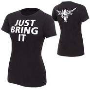 The Rock Brahma Bull Women's T-Shirt