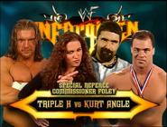 Triple H vs. Kurt Angle Unforgiven 2000