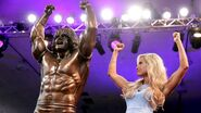 Ultimate Warrior Statue unveiled at Axxess.8