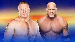 WM 33 Lesnar v Goldberg