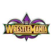 WrestleMania 34 Pin
