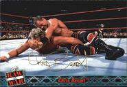 2001 WWF RAW Is War (Fleer) Chris Benoit 43