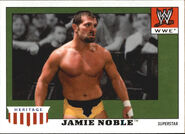 2008 WWE Heritage IV Trading Cards (Topps) Jamie Noble 23