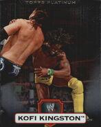 2010 WWE Platinum Trading Cards Kofi Kingston 59
