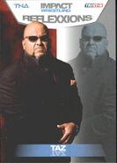 2012 TNA Impact Wrestling Reflexxions Trading Cards (Tristar) Taz 51