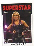 2016 WWE Heritage Wrestling Cards (Topps) Natalya 49