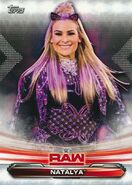 2019 WWE Raw Wrestling Cards (Topps) Natalya 52