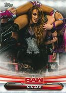 2019 WWE Raw Wrestling Cards (Topps) Nia Jax 53