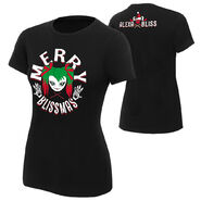 Alexa Bliss Merry Blissmas Women's Holiday T-Shirt