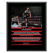 Braun Strowman TLC 2018 10 x 13 Commemorative Plaque