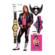 Bret Hart Fathead 5-Piece Wall Decals