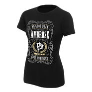 Dean Ambrose No Good Dean Goes Unhinged Women's Authentic T-Shirt