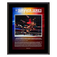 Roderick Strong Survivor Series 2019 10x13 Commemorative Plaque