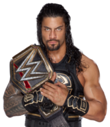 Roman reigns wwe world heavyweight champion by nibble t-d9y7peu