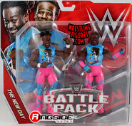 WWE Battle Packs 46 Xavier Woods & Kofi Kingston