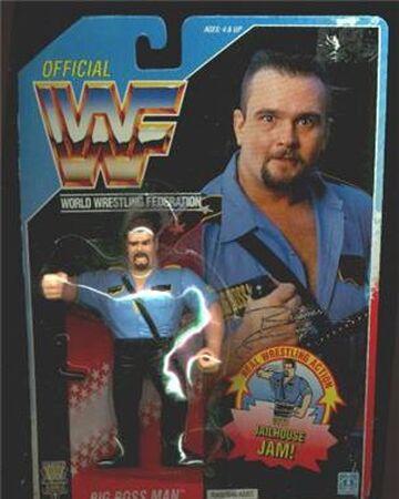 Big Boss Man Wwf Hasbro 1991 Pro Wrestling Fandom