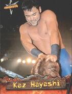 1999 WCW Embossed (Topps) Kaz Hayashi 35
