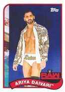 2018 WWE Heritage Wrestling Cards (Topps) Ariya Daivari 6