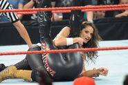 Raw 9-14-09 Intergender Tag Team Stratus pins Phoenix