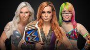 TLC 2018 Female Triple Threat Match