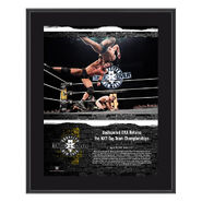 Undisputed Era NXT TakeOver Brooklyn 2018 10 x 13 Commemorative Plaque