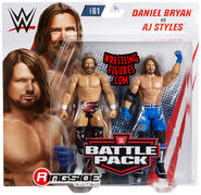 WWE Battle Packs 61 AJ Styles & Daniel Bryan