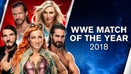 WWE Match of the Year 2018