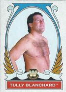 2008 WWE Heritage IV Trading Cards (Topps) Tully Blanchard 88