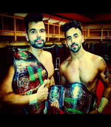 Bollywood Boyz 1st Ever GFW World Tag Team Champions